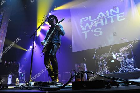 Editorial picture of Plain White T's in concert, Texas, America - 11 Jul 2015