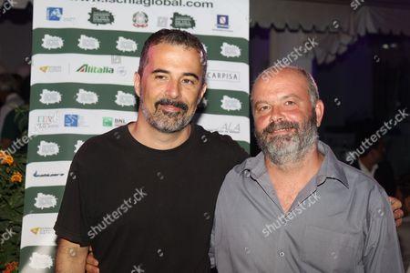 Francesco Munzi and Giulio Manfredonia