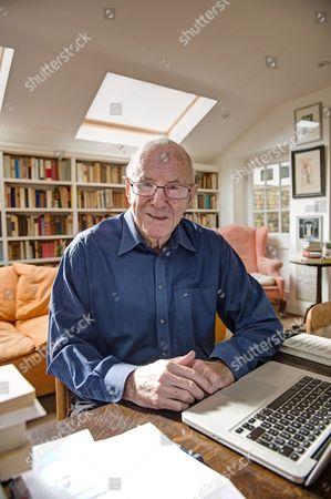 Editorial image of Clive James at home, Cambridge, Britain - 17 Apr 2015