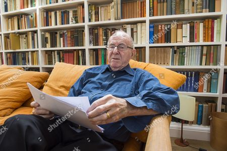 Stock Photo of Writer Clive James at his home