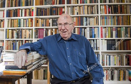 Editorial picture of Clive James at home, Cambridge, Britain - 17 Apr 2015