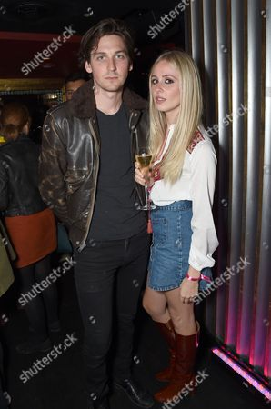 Stock Picture of George Craig and Diana Vickers