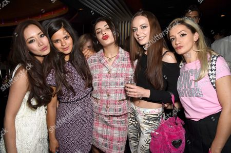 Betty Bachz, Bip Ling, Charli XCX, Louby McLoughlin with guest