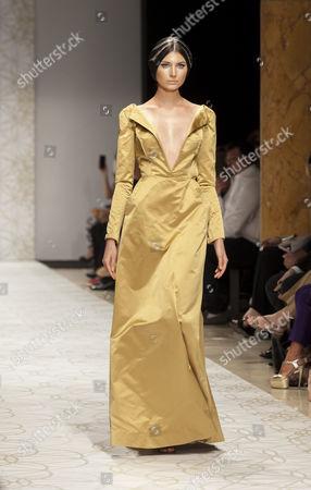 Editorial image of Sabina Persechino show, Fall Winter, Rome Fashion Week, Italy - 12 Jul 2015