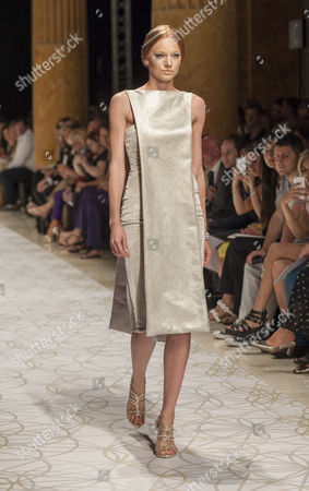 Editorial picture of Sabina Persechino show, Fall Winter, Rome Fashion Week, Italy - 12 Jul 2015
