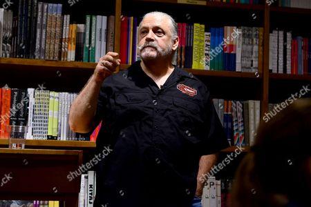 Editorial photo of Jeff Lindsay 'Dexter' book signing, Miami, America - 14 Jul 2015