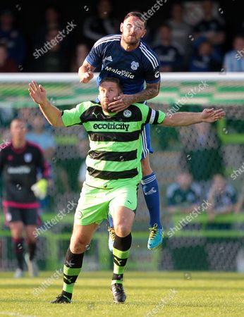 Editorial image of Forest Green Rovers v Cardiff City - Pre Season Friendly - Pre Season Friendly, Britain - 15 Jul 2015