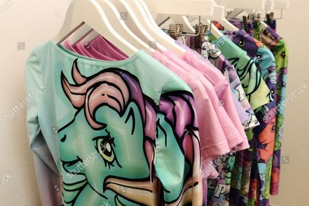 Clothes with My Little Pony pattern