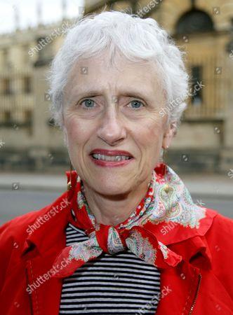 Editorial picture of Sara Paretsky 'Brush Back' book promotion, Oxford, Britain - 15 Jul 2015