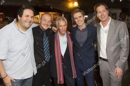 David Babani (Artistic Director), Steven Hoggett (Director), Burt Bacharach (Music), Kyle Riabko (Cast) and David Lane Seltzer (Co-Conceiver)