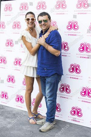 Laura Sanchez and Paco Tous