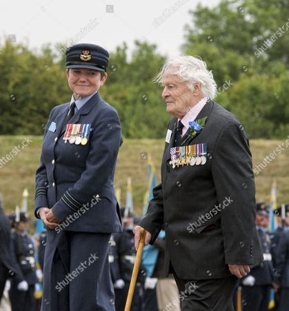 One of The Few, veteran RAF pilot Squadron Leader Geoffrey Wellum DFC