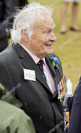 Veteran Squadron Leader Geoffrey Wellum DFC RAF