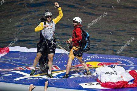 Stock Image of Christian Maurer of Switzerland arrives in Monaco