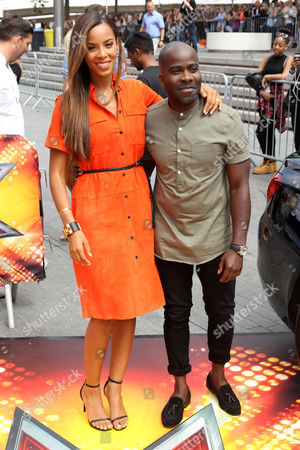 Rochelle Humes and Melvin O'Doom