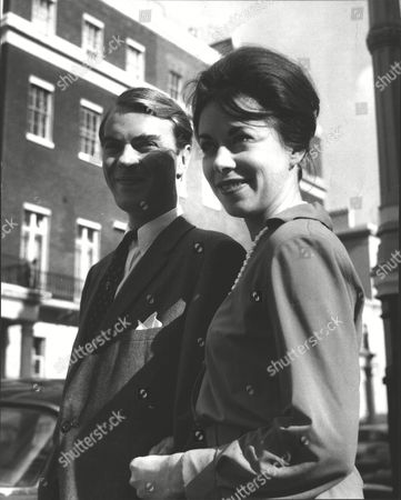 David Malcolm Son Of Actress Ann Todd With Miss Eileen O'reilly Following The Announcement Of Their Engagement. Box 0603 03072015 00242a.jpg.