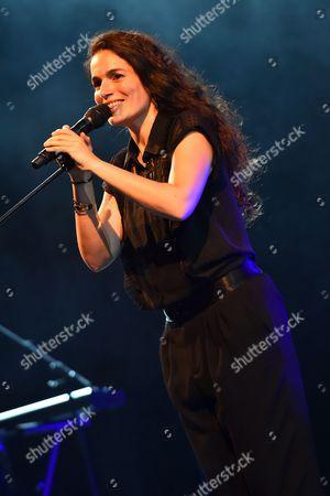 Yael Naim performs