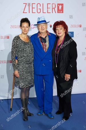 Editorial image of '40 Jahre Ziegler' film premiere, Berlin, Germany - 27 Apr 2013