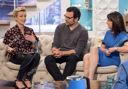 Georgie Barrat, Ricardo Chavira and Dr Dawn Harper