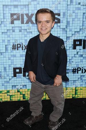Editorial picture of 'Pixels' film premiere, New York, America - 18 Jul 2015