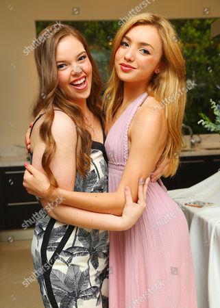 Miranda May and Peyton List