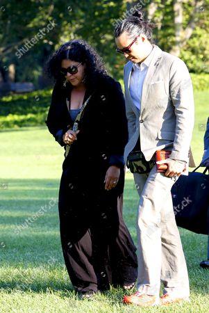 Maya Soetoro-Ng, the sister of United States President Barack Obama, and her husband Konrad Ng