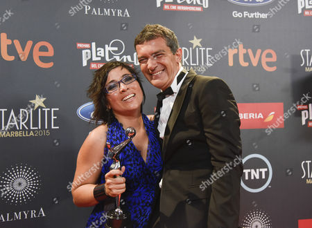 Editorial picture of TNTLA Platino Awards, Madrid, Spain - 18 Jul 2015