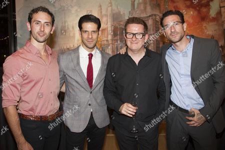 Chris Trenfield (Luca), Marcelo Gomes, Matthew Bourne (Director/Choreographer) and Jonathan Ollivier
