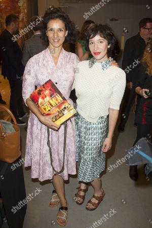 Stock Image of Indira Varma and Emma Forrest