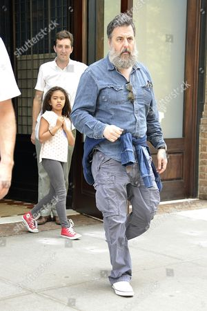Editorial image of Mark Romanek out and about, New York, America - 17 Jul 2015