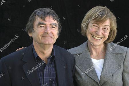 David Lodge and Miranda Seymour