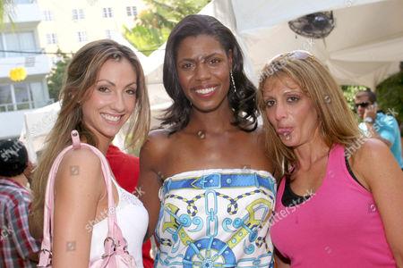 Heidi Bressler, Omarosa Manigault Stallworth and Katrina Campins