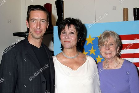 Ron Reagan, Michele Lee, Eleanor Clift