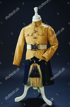 Scottish regimental costume from the 1937 film 'Wee Willie Winkie'