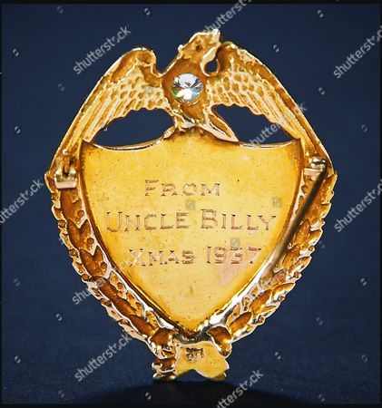 Shirley Temple's diamond-studded police badge, a gift from 'Bojangles'