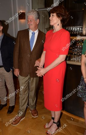 Editorial image of Sigourney Weaver, Ali Wambold and Monica G-S Wambold host welcome party for Marcelo Gomes, London, Britain - 20 Jul 2015
