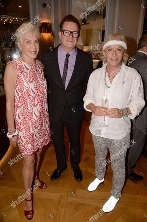 Alyce Eichelberger, Matthew Bourne and Suzanne Bertish