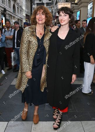 Anna Chancellor and her daughter Poppy Chancellor