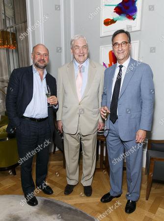 Guest, Conrad Black and Ali Wambold