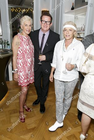Stock Picture of Sigourney Weaver, Matthew Bourne and Suzanne Bertish