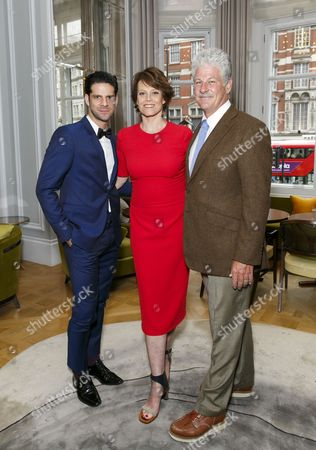 Editorial photo of Sigourney Weaver, Ali Wambold and Monica G-S Wambold host welcome party for Marcelo Gomes, London, Britain - 20 Jul 2015