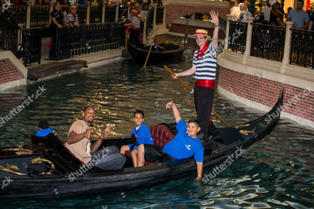 Editorial picture of TopSpin Charity Ping Pong Tournament at the Palazzo, Las Vegas, America - 18 Jul 2015