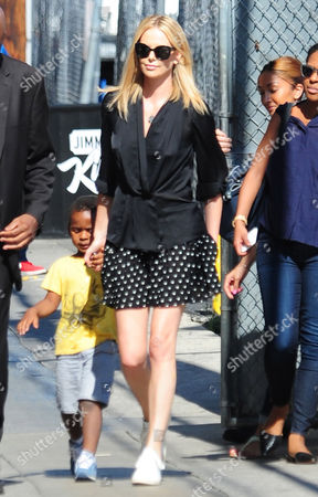 Editorial image of Charlize Theron out and about in Los Angeles, America - 20 Jul 2015