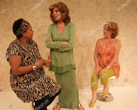 Stock Photo of Cleo Sylvestre Louise Jameson and Rula Lenska