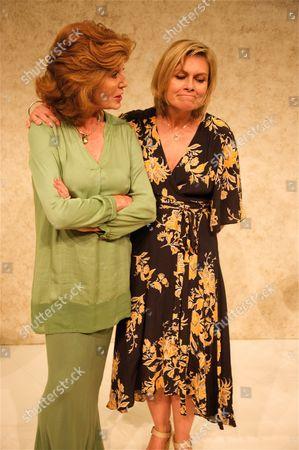 Stock Picture of Rula Lenska and Rachel Fielding
