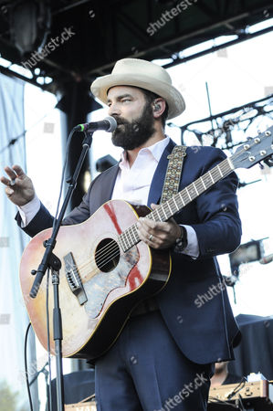 Stock Photo of Drew Holcomb performs at Marymoor Park.