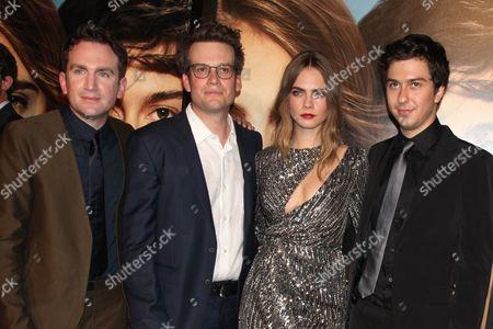 Jake Schreier (Director), John Green, Cara Delevingne, Nat Wolf