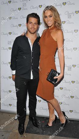 Stock Photo of Jonny Dodge & Cassandra Harris