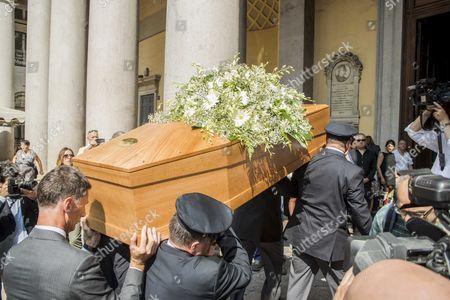 Funeral of Elio Fiorucci