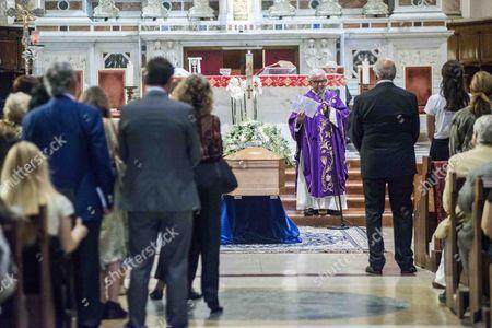 Editorial image of Funeral of Elio Fiorucci, Milan, Italy - 22 Jul 2015